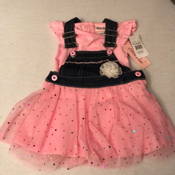 Little Lass Other - 2 Piece Overall Outfit